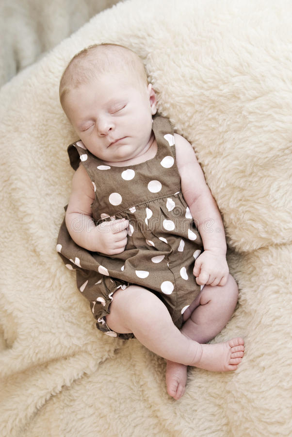 Download Beautiful Sleeping Newborn stock photo. Image of love - 14854552