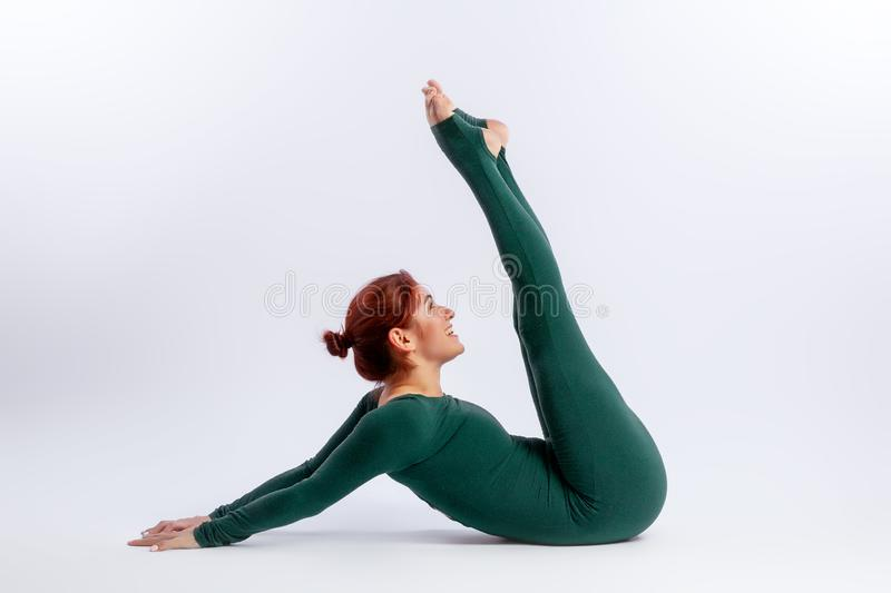 Training for stretching and yoga stock photos