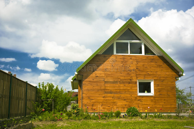 Download Beautiful small house stock image. Image of summer, outdoors - 14378803
