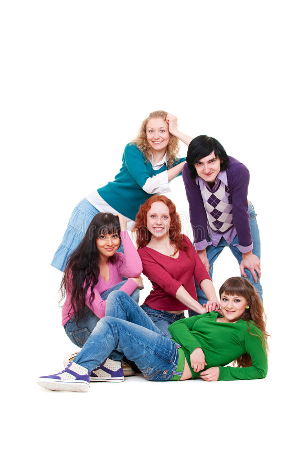 Download Beautiful And Smiley Teenagers Stock Image - Image: 13732301