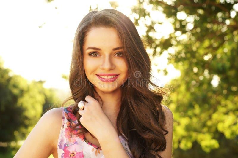Beautiful Smiling Girl Stock Photos