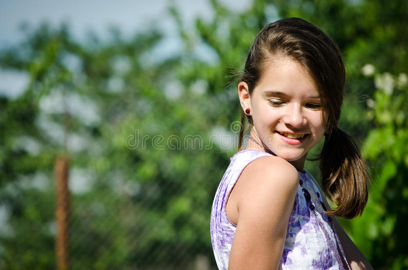 Download Beautiful smiling teen stock image. Image of casual, lifestyle - 24929303