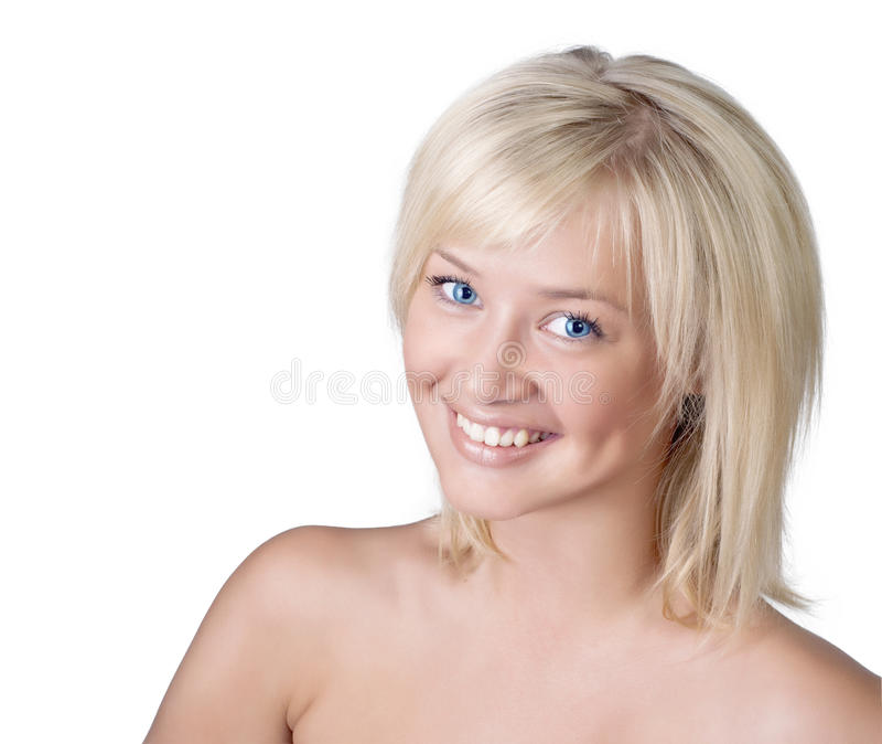 Beautiful Smiling Woman Portrait Royalty Free Stock Photos