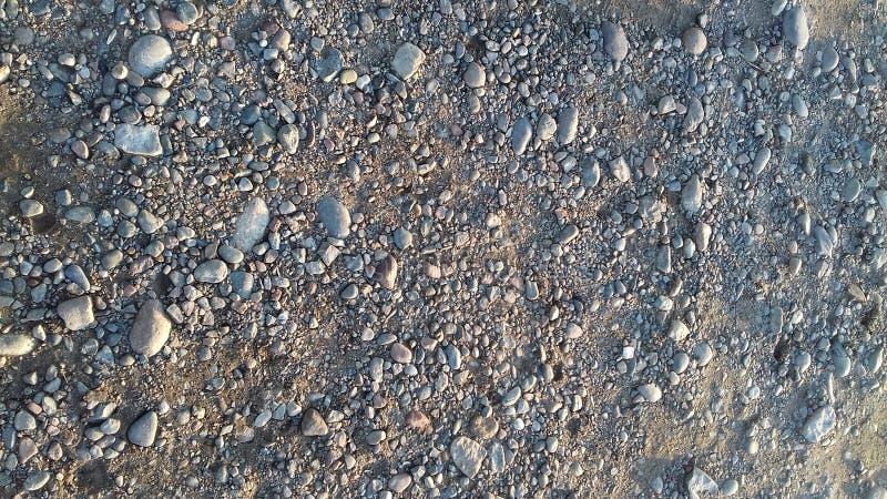 The beautiful smoll stones on beach royalty free stock photo