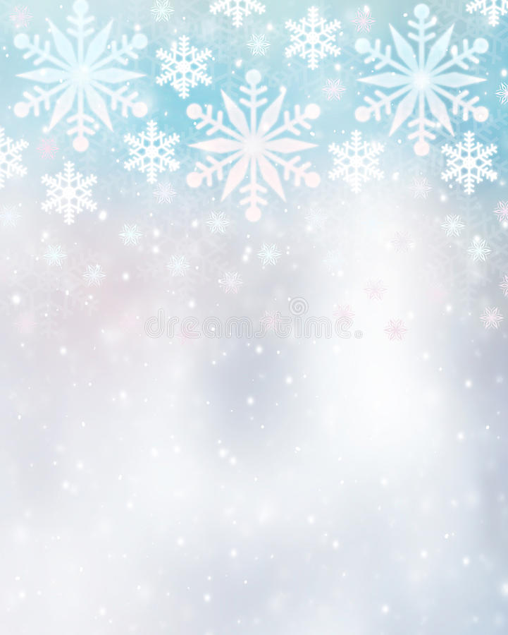 Free Beautiful Snowflakes Background Royalty Free Stock Photography - 47878377
