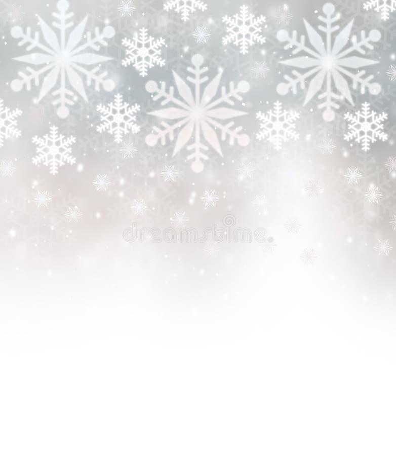 Free Beautiful Snowflakes Border Royalty Free Stock Photography - 48046207