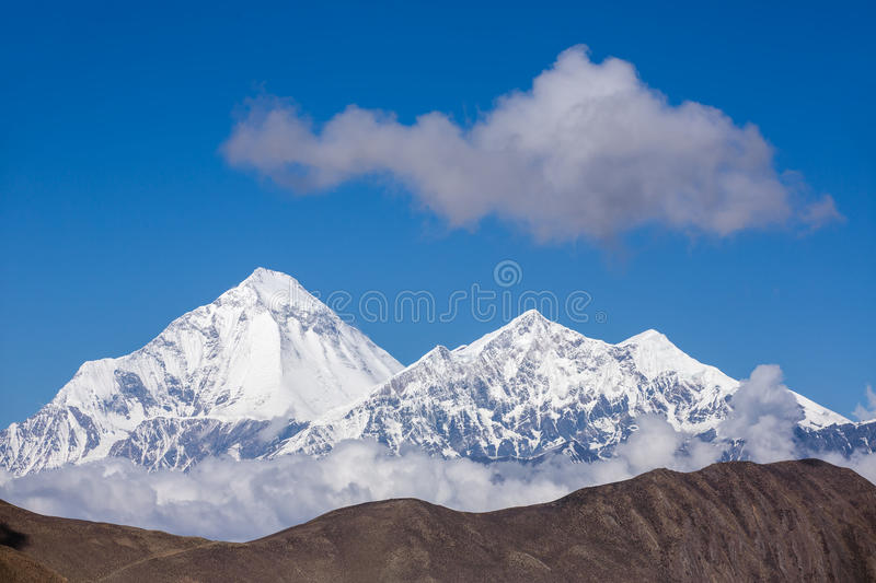 Download Beautiful Snowy Mountain Landscape Stock Photo