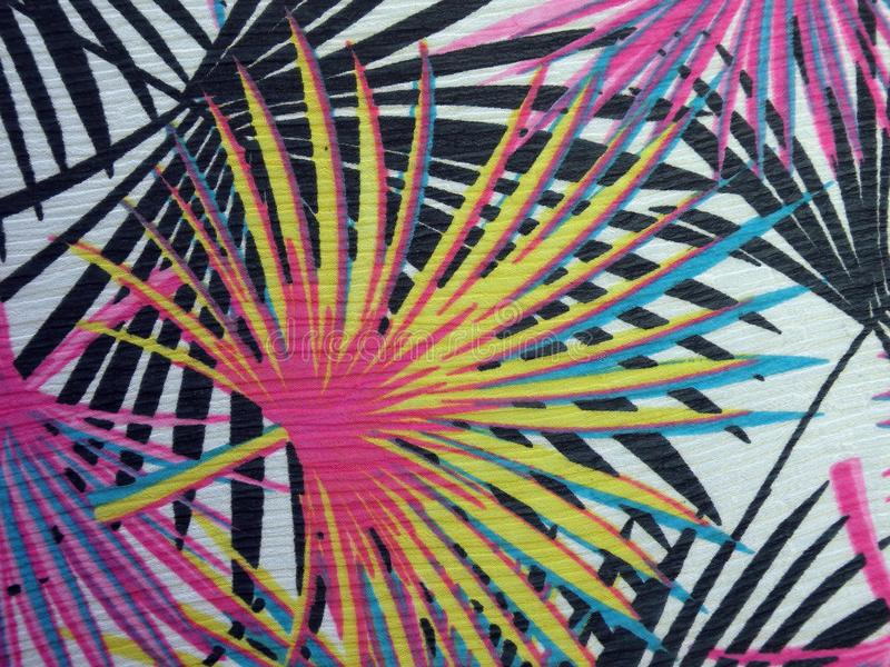 Colorful fabric surface texture stock photography