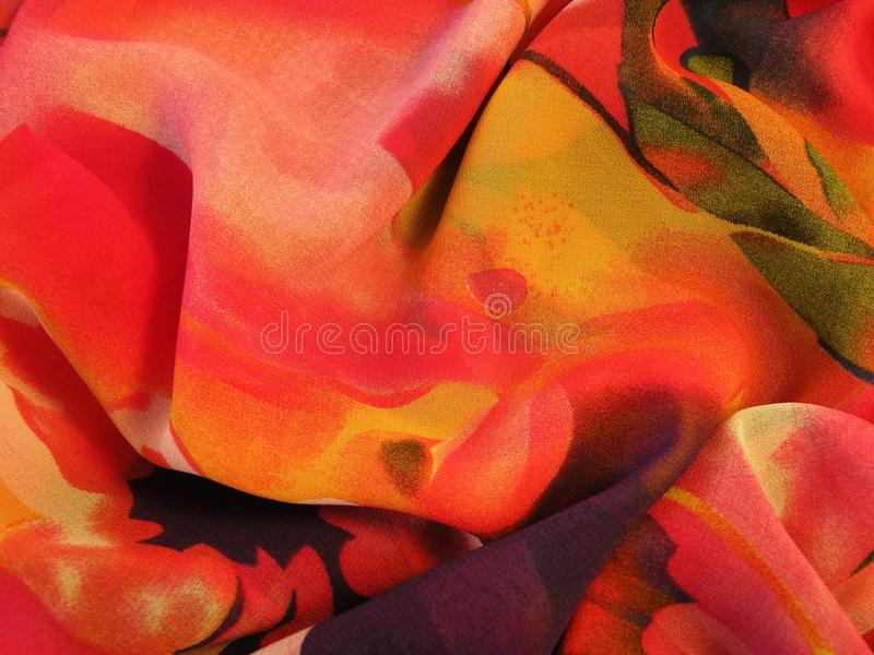 Colorful fabric surface texture royalty free stock image
