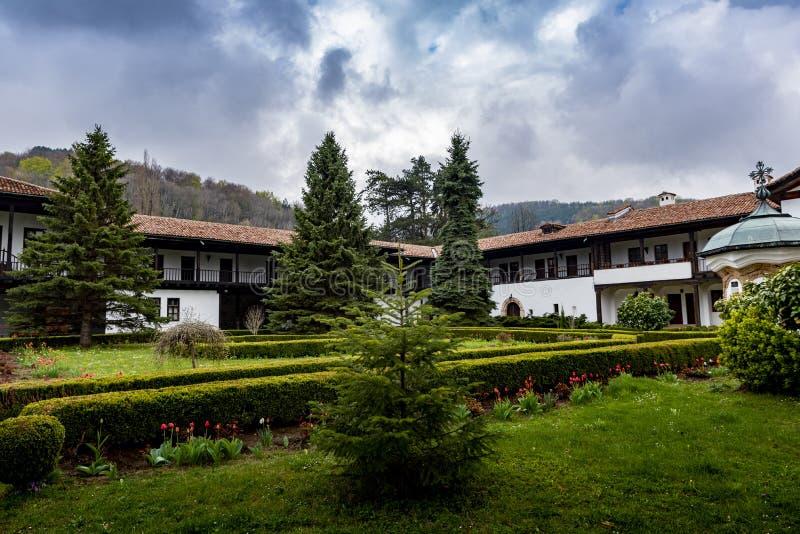 Sokolski Monastery Gabrovo Bulgaria stock photo