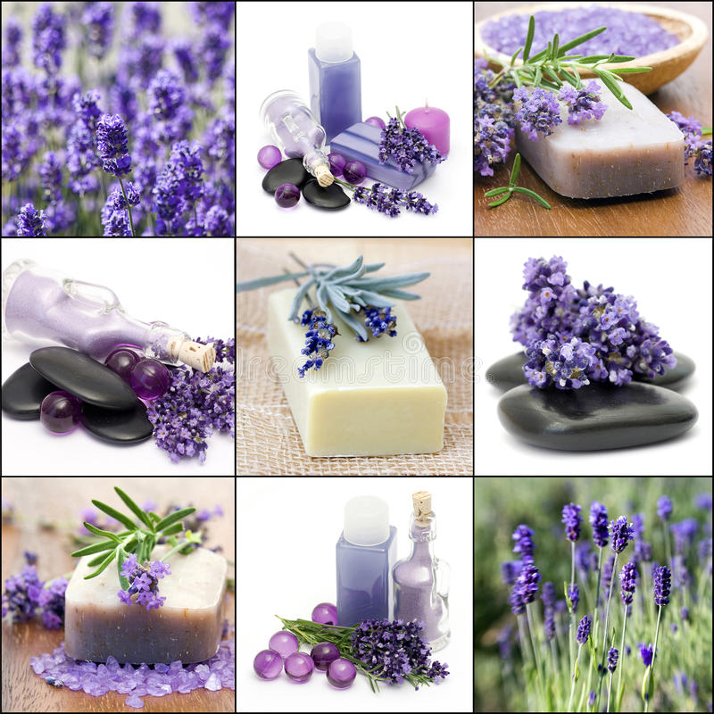 Beautiful Spa collage royalty free stock image