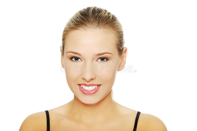 Beautiful spa woman stock photo