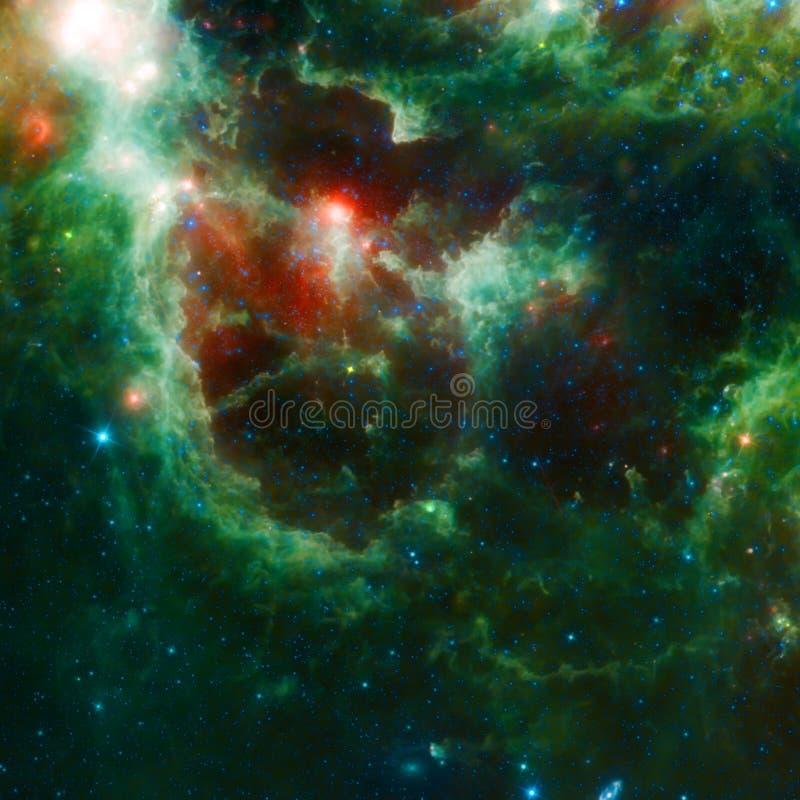 Beautiful Space nebula royalty free stock photography