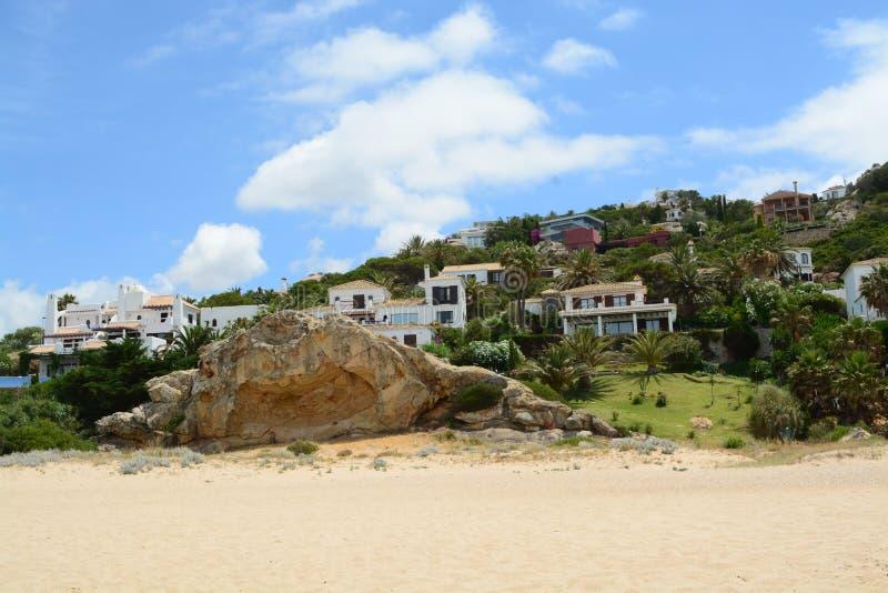 Beautiful Spanish hill stock photo