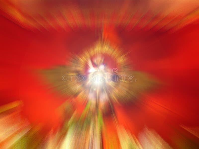 Beautiful spiritual light stock image
