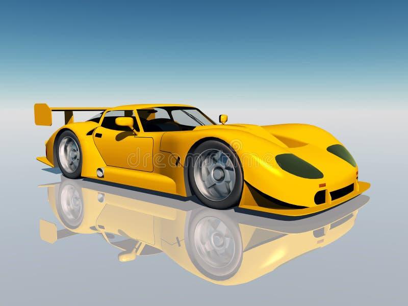 Beautiful Sports Car vector illustration