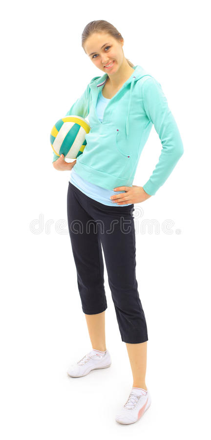 Free Beautiful Sports Girl Stock Photo - 19047560