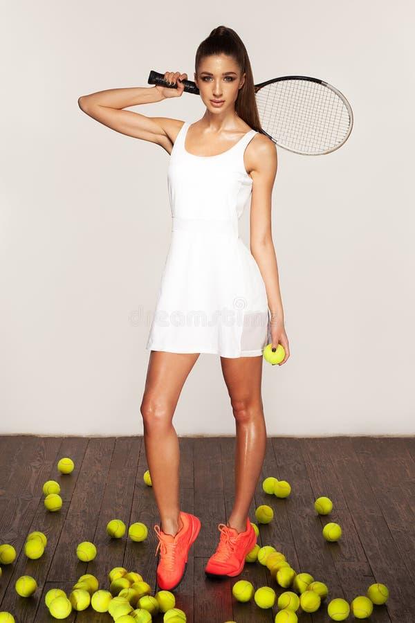 sexy Tennisspieler Foto