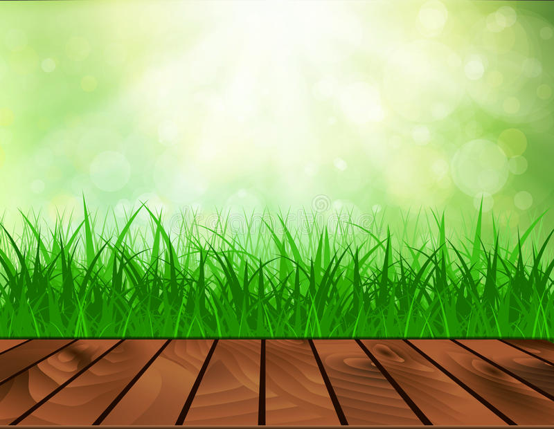 Beautiful Spring background royalty free illustration