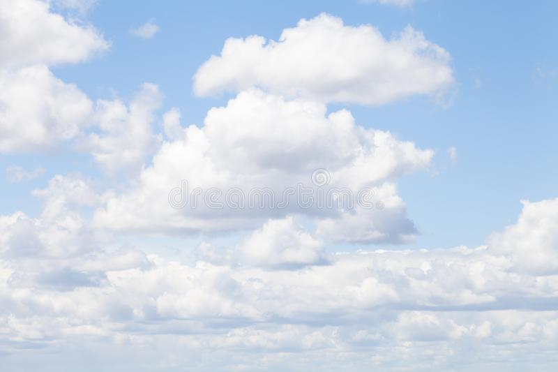 Beautiful spring sky stock photos