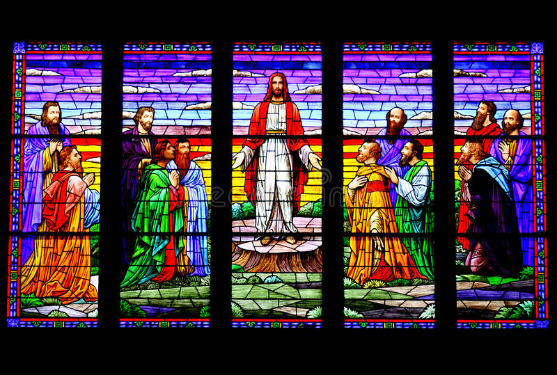 Download Beautiful Stained Glass stock image. Image of religion - 17701629