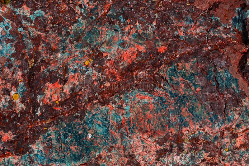 Beautiful stone surface texture with natural patterns and colors. Abstract texture. stock images