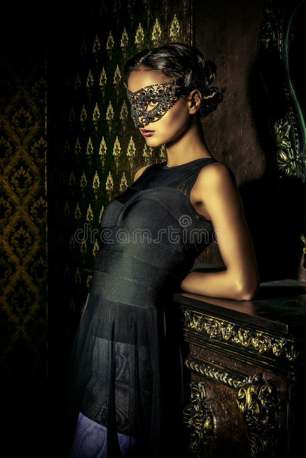 Beautiful stranger royalty free stock images