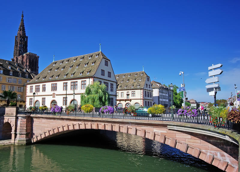 Download Beautiful Strasbourg view stock photo. Image of homes - 13189914