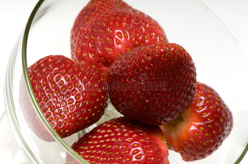 Download Beautiful strawberries stock photo. Image of background - 7506816