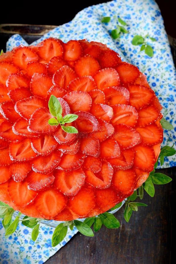 Download Beautiful Strawberry Cheesecake Stock Photo - Image: 43516592
