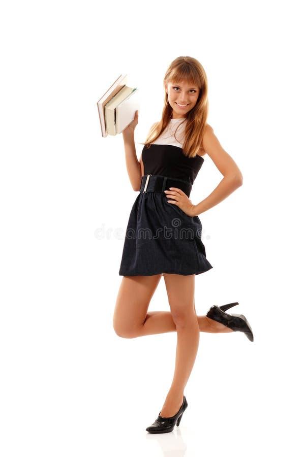 Beautiful Student Teenager Girl Friendly Stock Photos