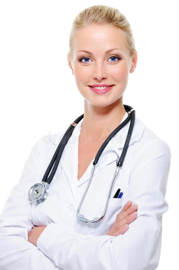 Free Beautiful Successful Female Doctor Stock Photo - 13011820