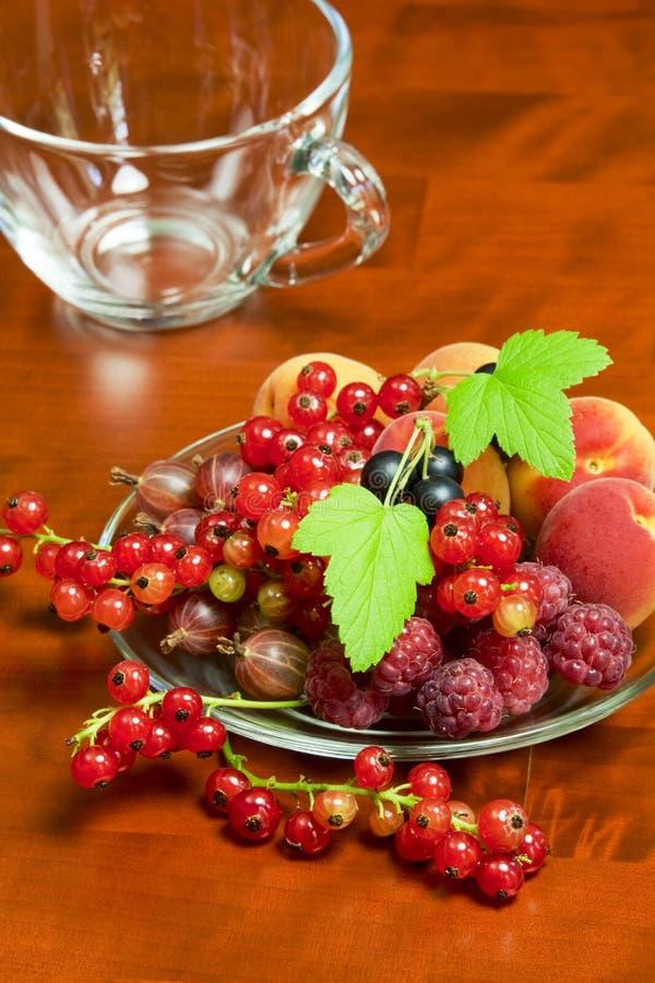 Beautiful summer berries stock images