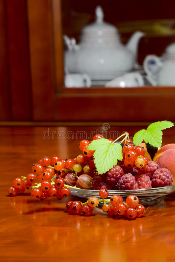 Beautiful summer berries royalty free stock photography