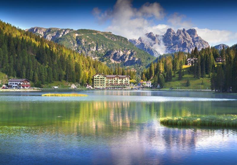 The Grand Hotel Lake Misurina