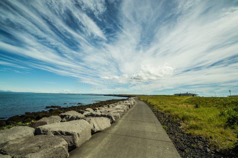 Icelandic summer stock photo