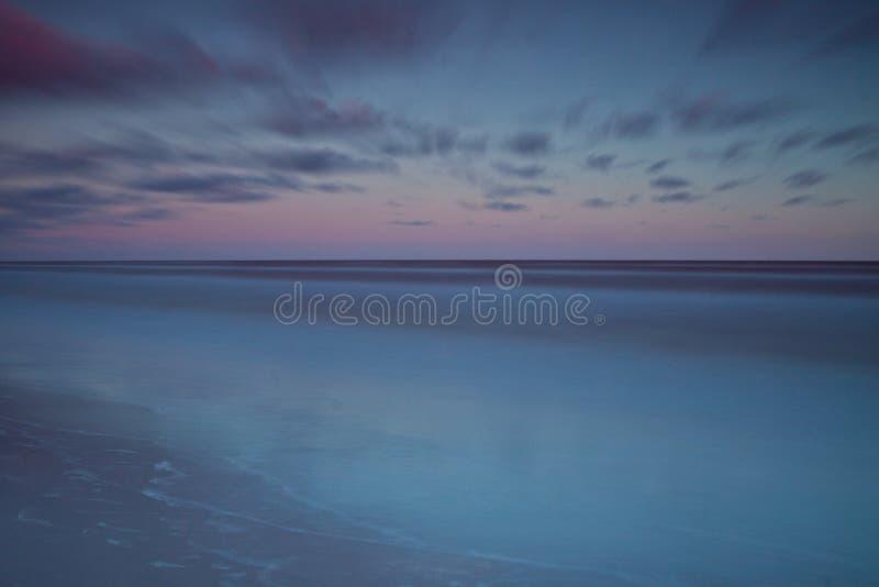 Download Beautiful Sunrise At Baltic Sea. Sunrise Over The Sea. Chalupy, Poland. Stock Image - Image: 31761325