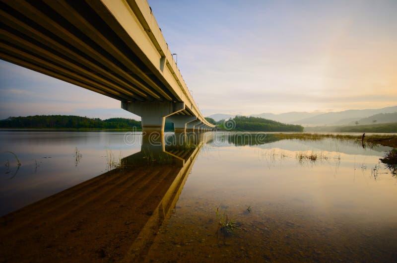 Beautiful Sunrise at beris lake,  sik kedah malaysia. Beautiful sunrise beris lake sik kedah malaysia royalty free stock images