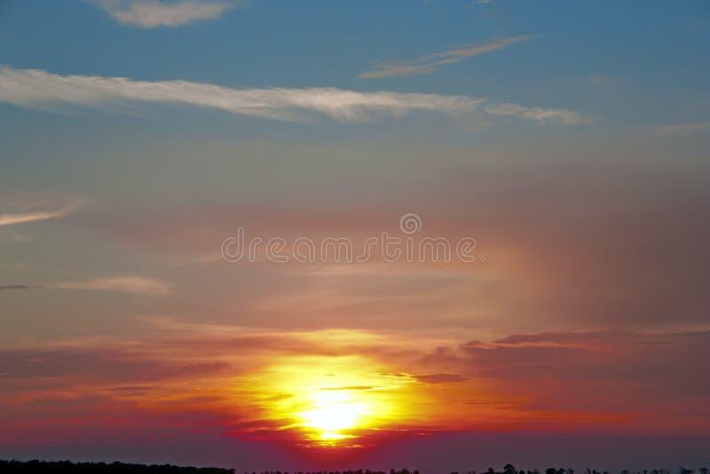 Beautiful sunrise royalty free stock photo