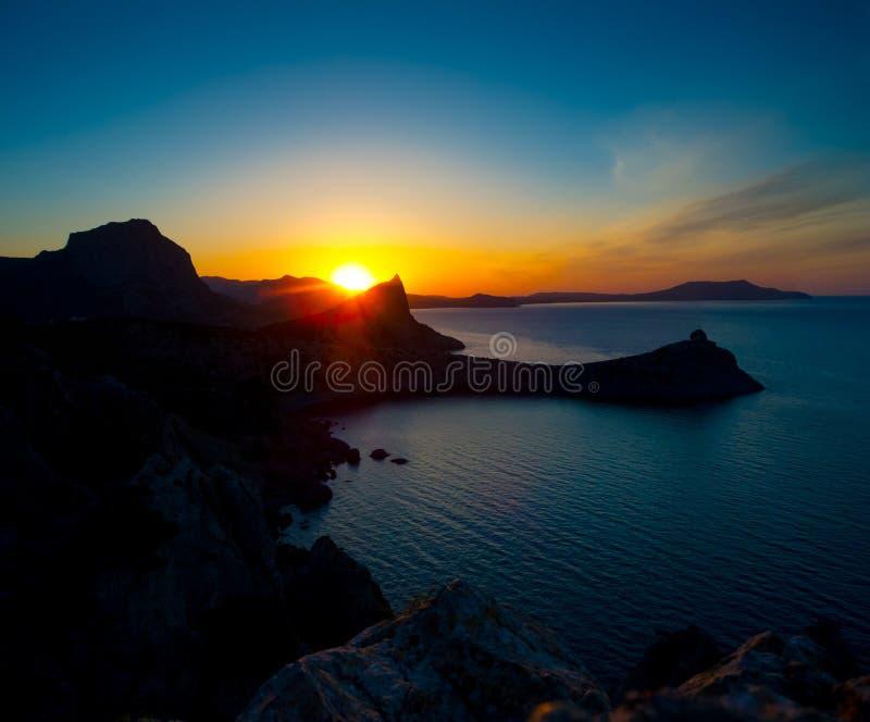 Download Beautiful Sunrise Near Novyi Svet, Crimea Stock Photo - Image: 36652966
