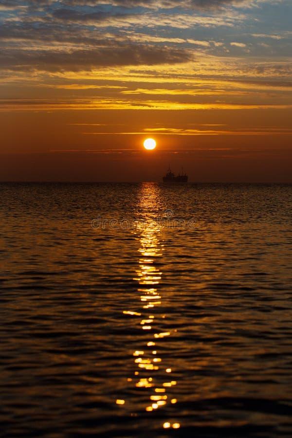 Beautiful Sunrise Over The Horizon Royalty Free Stock Photos