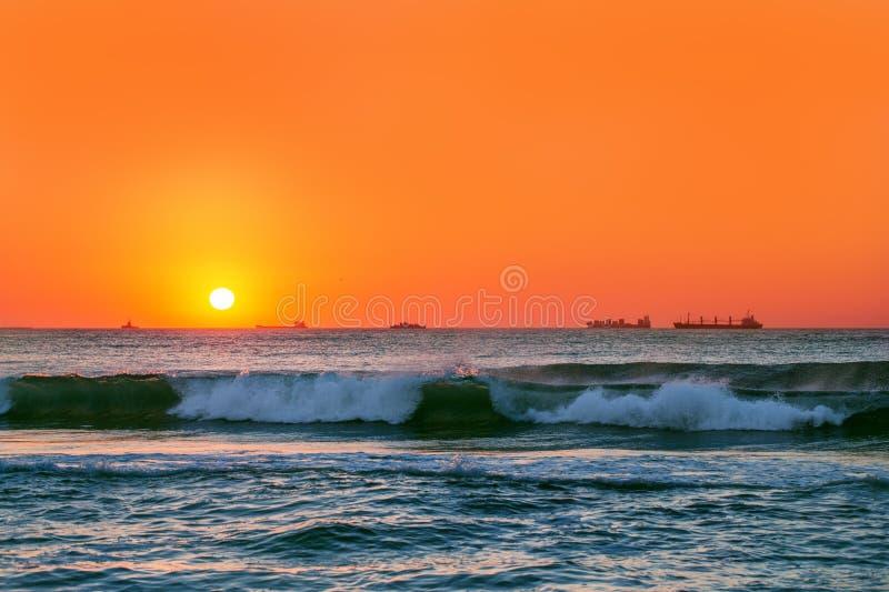 Download Beautiful Sunrise Over The Horizon Stock Photo - Image: 30515366