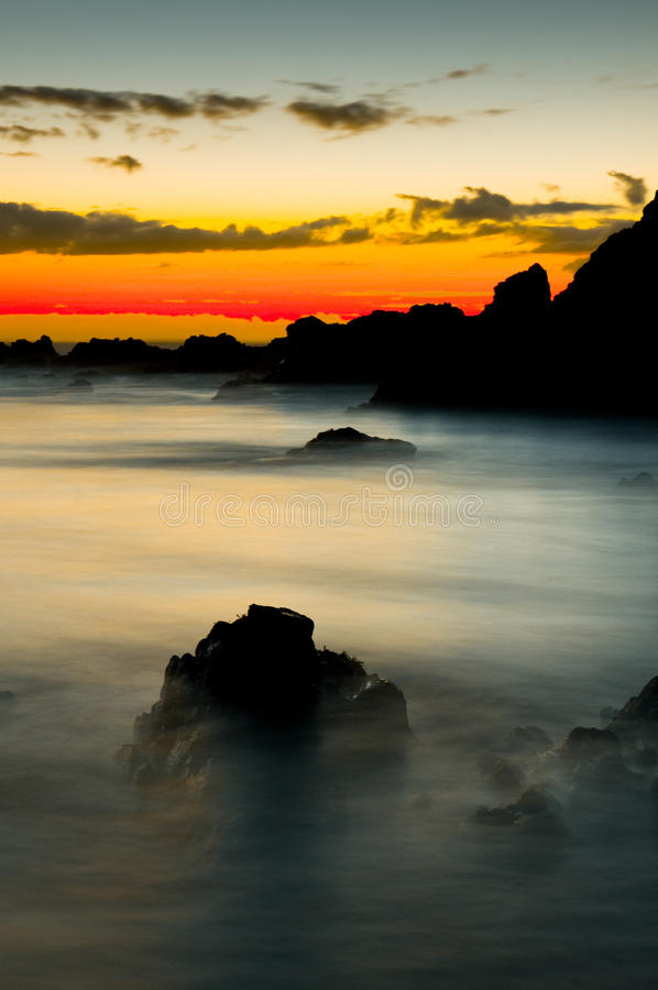 Free Beautiful Sunrise Over The Coast Royalty Free Stock Photo - 15158395