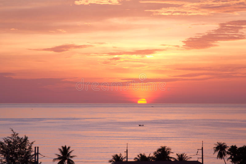 Download Beautiful sunset stock image. Image of night, dusk, coast - 27018991