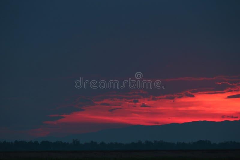 Beautiful sunset royalty free stock images