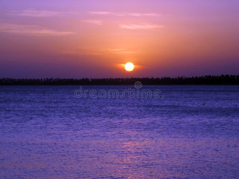 Beautiful sunset on the beaches of Serrambí north Brazil. Beautiful sunset on the beaches of Serrambí north Brazil Southamerica stock photo