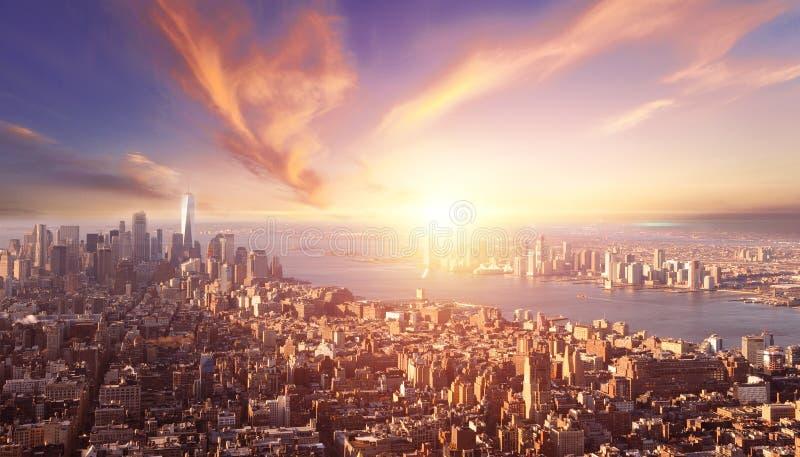 A beautiful sunset city background.  royalty free stock photo