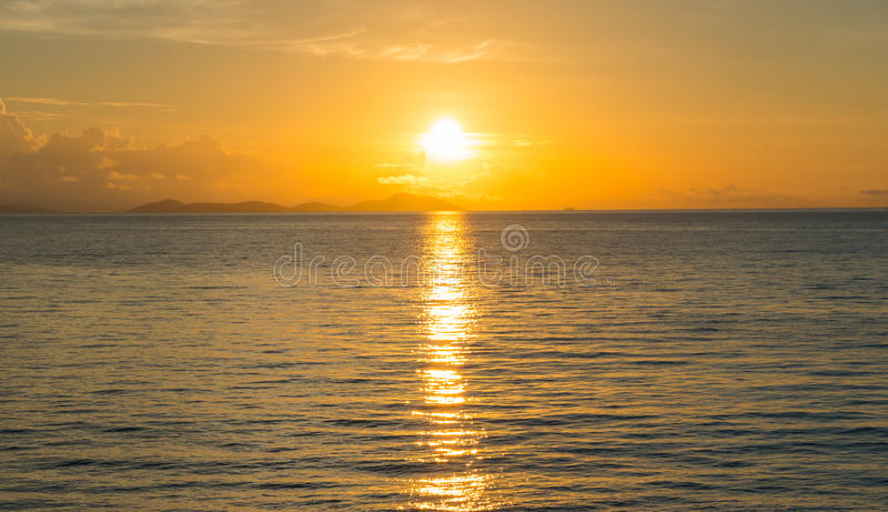 Beautiful sunset. royalty free stock images