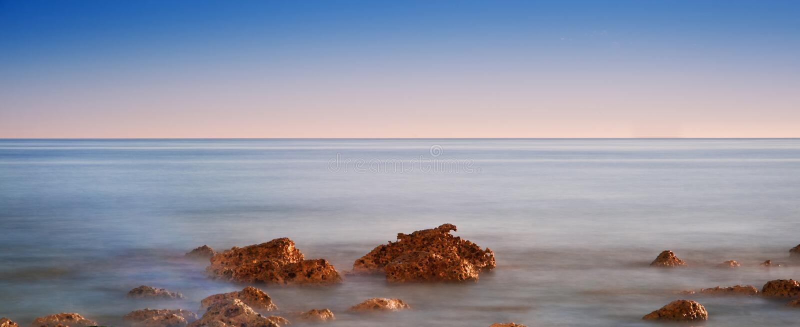 Download Beautiful Sunset Over Summer Ocean Stock Images - Image: 26877624