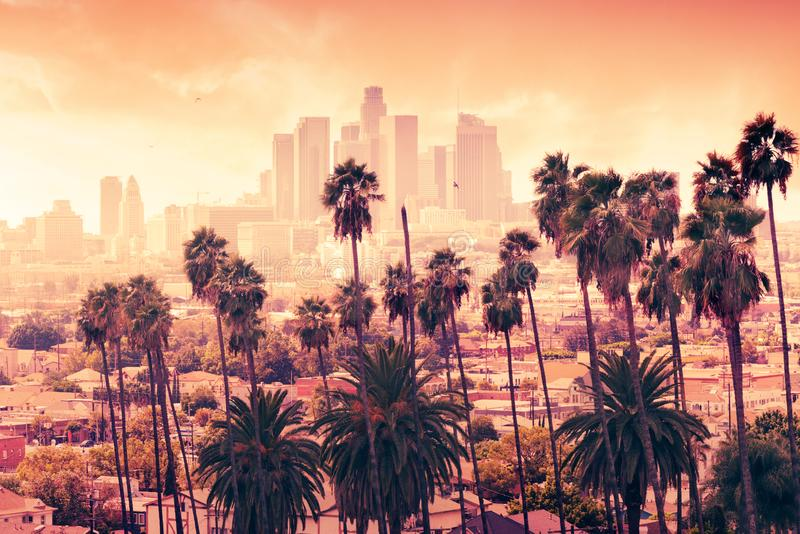Los Angeles, California stock image